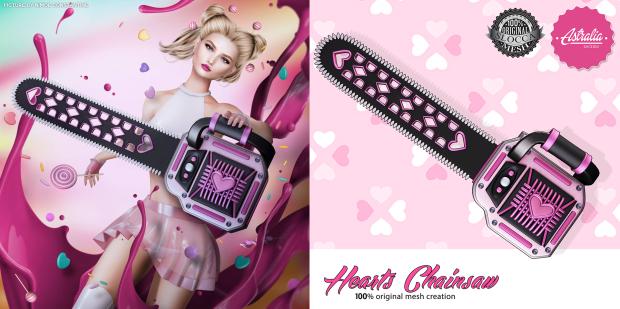 Astralia - heart chainsaw adv