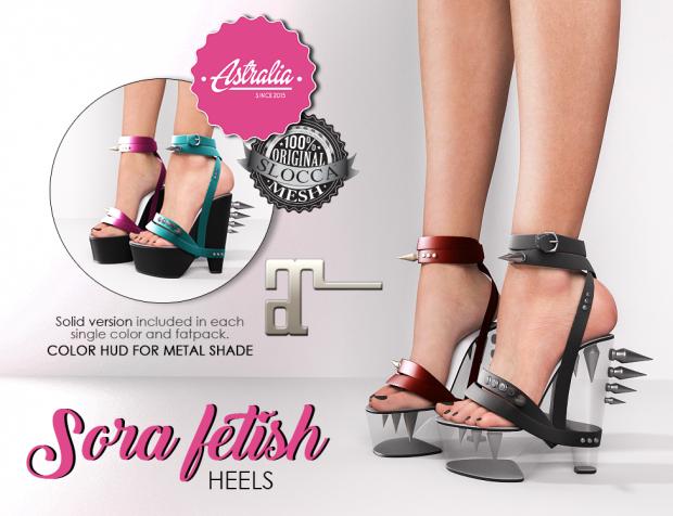 Astralia - Sora Fetish heels